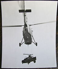 AVIATION, PHOTO HELICOPTERE SIKORSKY HSS-1, HELITREUILLAGE VEHICULE