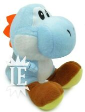 SUPER MARIO BROS. YOSHI AZZURRO PELUCHE 17 CM PUPAZZO plush doll new Light Blue