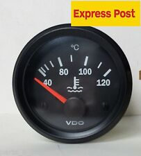 VDO COCKPIT VISION 52mm 12v WATER TEMP GAUGE AUTOMOTIVE MARINE 4WD
