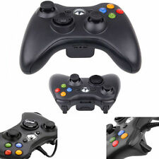 Wired USB Game Pad Joypad Controller for Microsoft Xbox 360 Slim&PC Black C