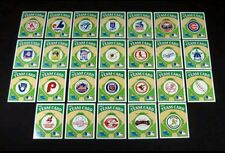 RARE SET 1983 Post Sugar Crisp MLB Logo Team Set (26) Nm/Mt