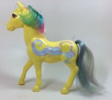 VINTAGE G1 MY LITTLE PONY DREAM BEAUTY MORNING GLORY MLP YELLOW RAINBOW