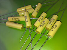 [10 pcs]  ROEDERSTEIN MKC1860 0.68 uF 250V  Axial Polycarbonate Capacitors