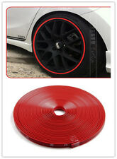 Red Car Wheel Rim Edge Protector Ring Guard Tape Sticker Rubber Strip For Benz