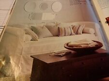 Pottery Barn PB Megan Daybed Couch Day Bed Replacement Slipcover Stone Twill NEW
