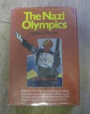 THE NAZI OLYMPICS by Richard D. Mandell - 1st/1st HCDJ 1971 - 1936 Olympic Games