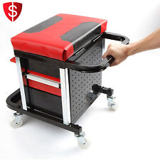 Mechanic Rolling Stool Tools Seat Creeper Garage Shop Cahir Work Chest Storage