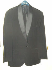 Bill Blass Tuxedo measures 42L mint union made in USA pure 100% wool tux l long
