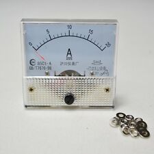 Amp Meter Panel Mount 85C1DC 20 Amp Analog