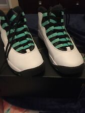 Nike Air Jordan 10 X Retro GG GS Youth 30th Verde Turquoise 5Y