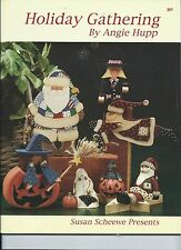 Decorative tole painting book -  HOLIDAY GATHERING by Angie Hupp
