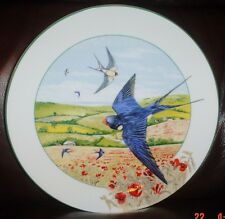 Royal Doulton THE FIELD SWALLOW Collectors Plate