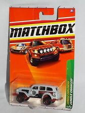 Matchbox Diecast 2010 Jungle Explorers #97 Jungle Crawler Flat Gray Swamp Tramps