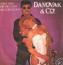 "DANOVAK & Co. 7""PS Spain 1982 SEXY COVER What have you done to my heart"