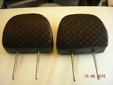 ROVER 45 MG-ZS /99-05 Pair head rests  USED PARTS