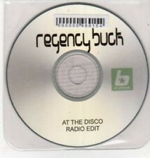 (BQ939) Regency Buck, At The Disco - 2001 DJ CD