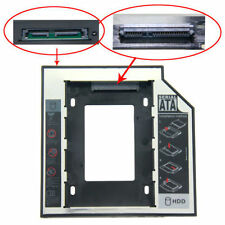 12.7mm 2nd SATA to SATA Laptop Hard Drive DVD Bay Caddy ACER/ASUS/TOSHIBA/DELL