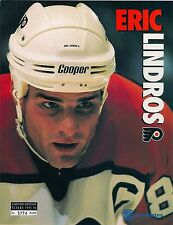 1995-96 Limited Edition Sheet Flyers vs Winnipeg Jets - Eric Lindros #5774/6000
