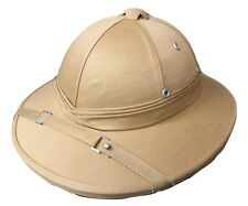 Safari Hat Helmet British Military Jungle Explorer Aussie Bucket Pith Costume