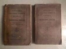 STORIA DELLA COSTITUZIONE INGLESE FISCHEL 1866 2 VOLUMI