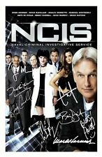 NCIS AUTOGRAPHED SIGNED A4 PP POSTER PHOTO