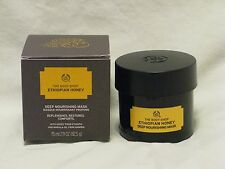 The Body Shop 'Ethiopian Honey Deep Nourishing Face Mask' 3oz Treatment NIB