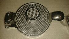 "BROWNE-HALCO 4450HP Adjustable Cast Aluminum 4-1/2"" HAMBURGER PRESS NEW BBQ!!!"