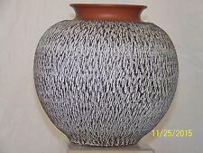 Eckhardt & Engler Studio Art Pottery Terracotta Die Rinde Mid Century Vase