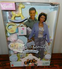 very rare Black American AA HAPPY FAMILY Barbie GRANDMA DOLL grandparent NRFP