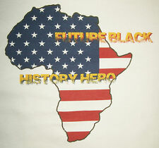 Black History Hero Tee Youth L African American Heritage T new atbh2