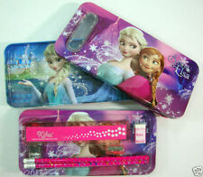 FROZEN Pencil Box High Quality Embossed with Stationary set for Kids - BEST GIFT