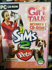 The Sims 2 Pets - Girl Talk - PC GAME - FREE POST