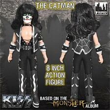 """KISS  8"""" The Catman retro mego  figure Monster series  (NEW poly bagged)"""