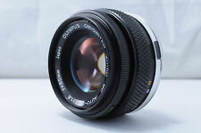 【Very Good】Olympus MC ZUiko Auto-S OM-System 50mm f/1.8 Lens From Japan #1978680