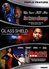 Urban Triple Feature (In Too Deep, Glass Shield, A Rage in Harlem), New DVDs