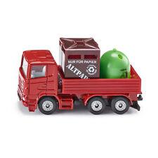 Siku 0828 Scania Recycling-LKW rot Modellauto (Blister) NEU! °