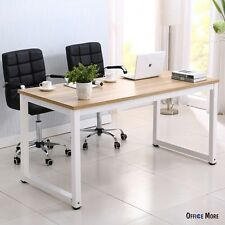 New Wood Computer Desk PC Laptop Table Workstation Study Home Office Furniture