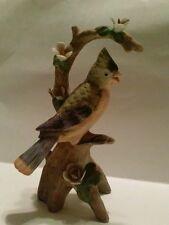 Vintage Linwile China Ardalt Blue Jay BIRD  Figure