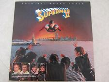 Superman II Vinyl Record (1981) Original Soundtrack Laser Etched Vinyl Record LP