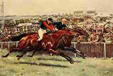 A4 Photo Giles Godfrey 1903 Persimmons Derby Print Poster