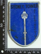 VINTAGE SYDNEY CENTREPOINT EMBROIDERED SOUVENIR PATCH WOVEN CLOTH SEW-ON BADGE