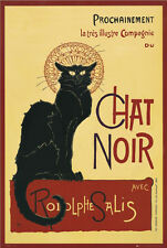 Black Cat POSTER Chat Noir Famous Image Wall Art Prochainment BRAND NEW Licensed