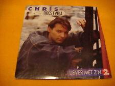 Cardsleeve Single CD CHRIS & ROESTVRIJ Liever Met Z'n Twee 2TR 1994 dutch
