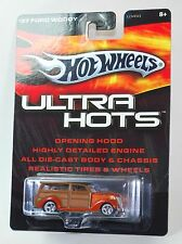 Hot Wheels ULTRA HOTS '37 FORD WOODY REAL RIDERS 1:64