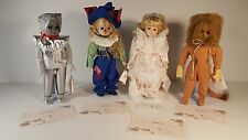 Vintage collection Bradley Wizard Of Oz Dolls lot of 4
