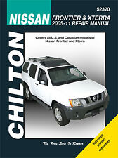 Repair Manual Chilton 52320 fits 05-11 Nissan Frontier