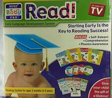 Your Baby Can Read Volumes1,2,3 & 4 Dvd's,Cards&Books Brand New