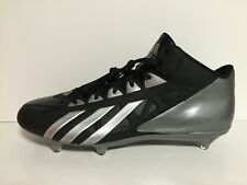 Adidas Filthy Quick Mid D Men's Football Cleats Size 13.5 G67076 Blk Gry