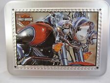 Harley-Davidson Tin with Harley-Davidson Pictured  Used  (2)