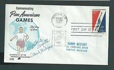 Cynthia Goyette signed cover US Olympian 1964 Gold Swimming